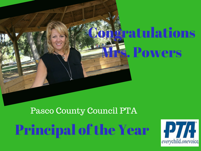 Pasco County PTA Principal of the Year