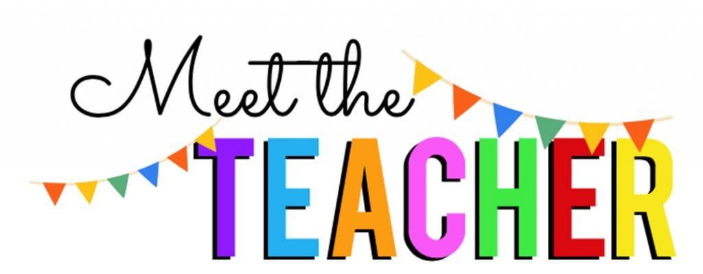 Meet the Teacher Day August 5th